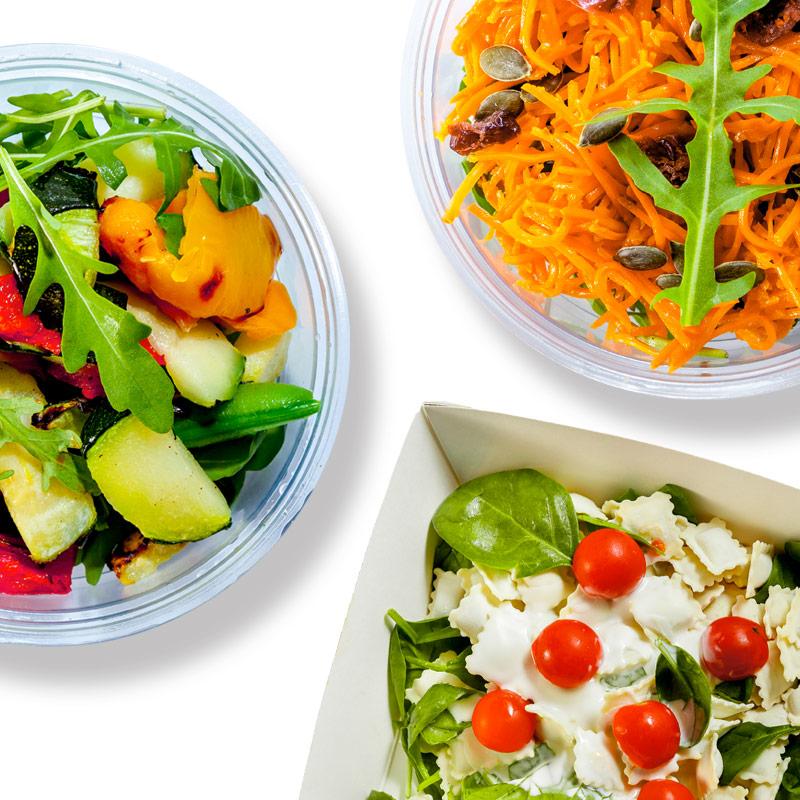 Minis salades